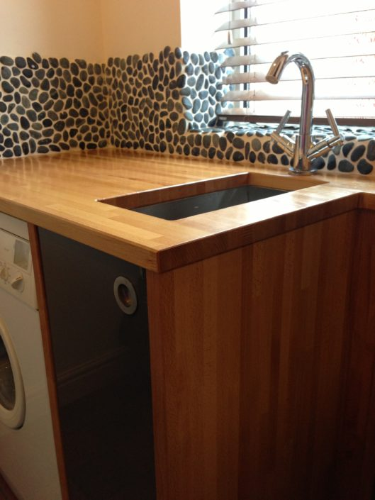 Custom worktop design and fit
