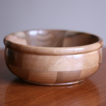 Whisperswood Walnut Block Bowl