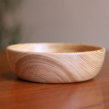 pn01-002 Whisperswood 14.5 simple pine bowl