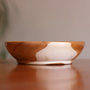 ye01-003-1 Whisperswood 18cm Yew Bowl
